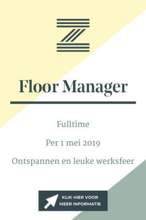 vacatureknop VP3 Floormanager
